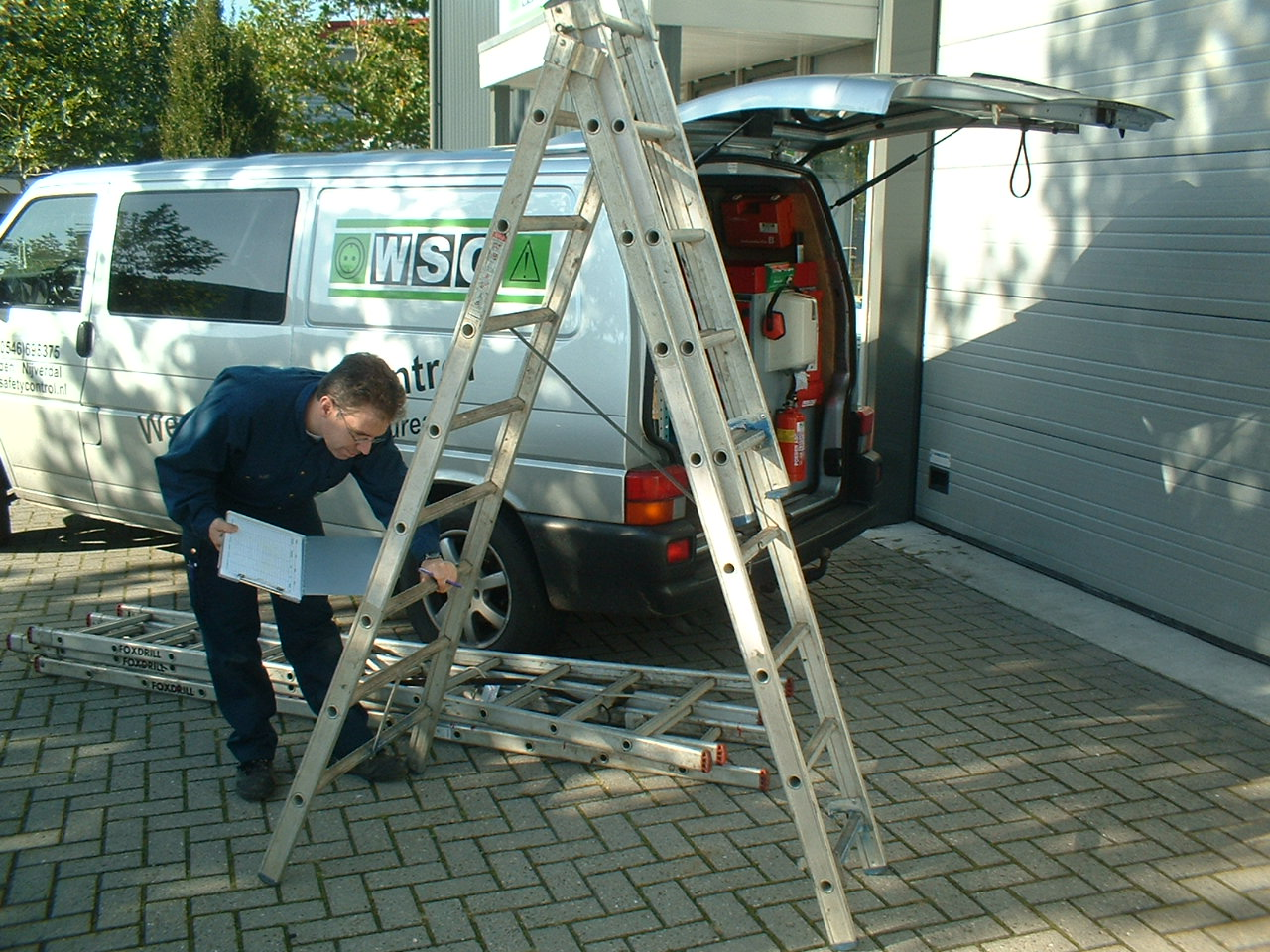 Weenk safety control Ladders en trappen
