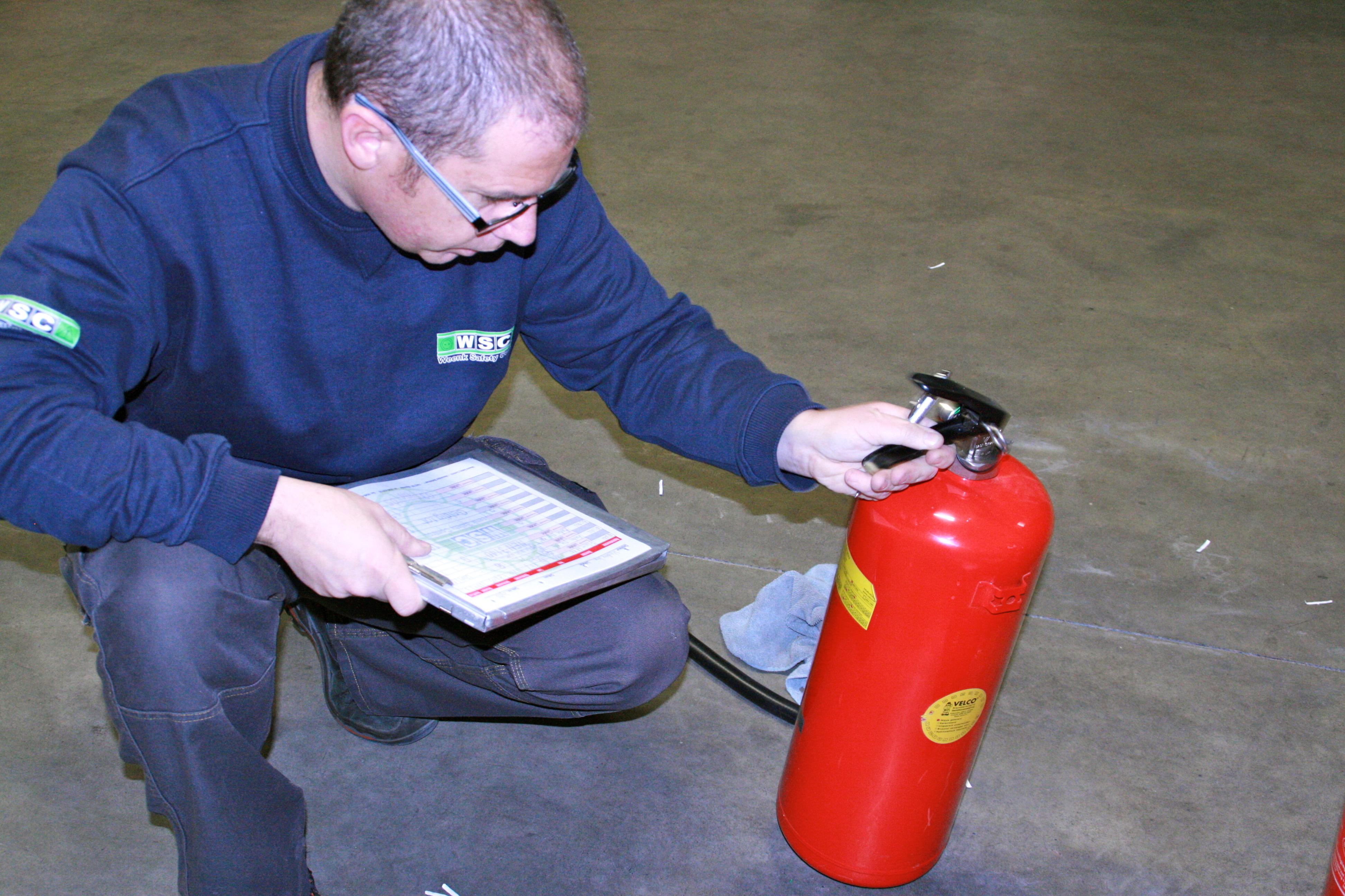 weenk safety control nen keuringen brandblussers